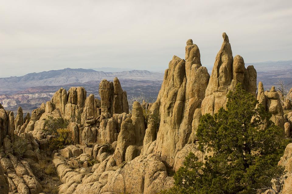 Rocks, Mountains, Hiking, Nature, Landscape, Travel