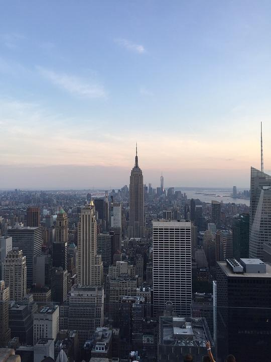 Nyc, New York, New York City, Landscape, Skyscraper