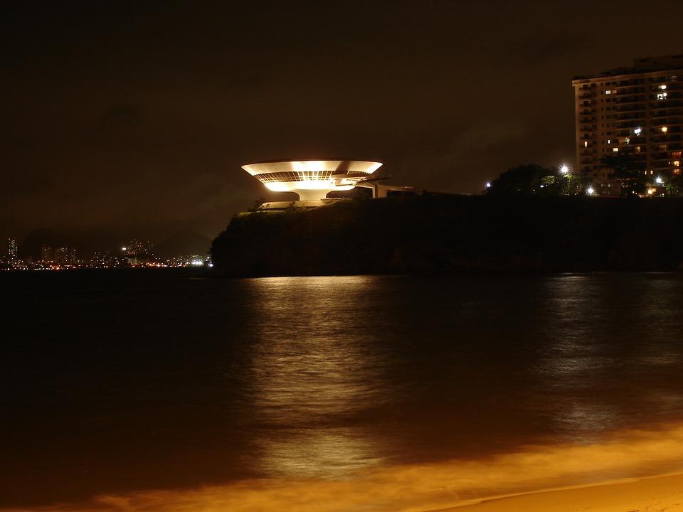 Niteroi, Brazil, Museu, Arte, Landscape, Tourism
