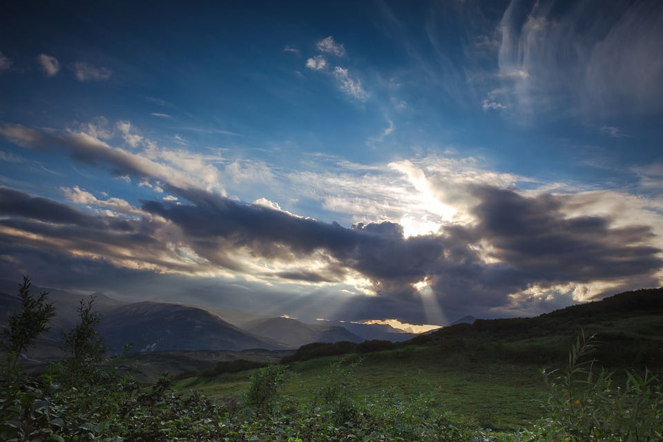 Panoramic, Nature, Mountain, Landscape, Sky, No One