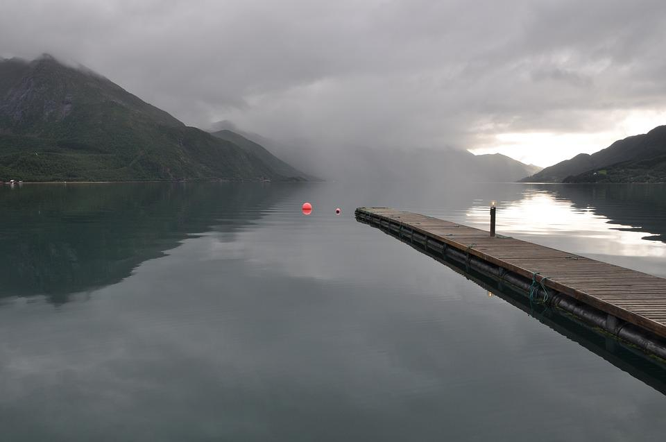 Water, Norway, Landscape, Lake, Calm Calm, Romantic