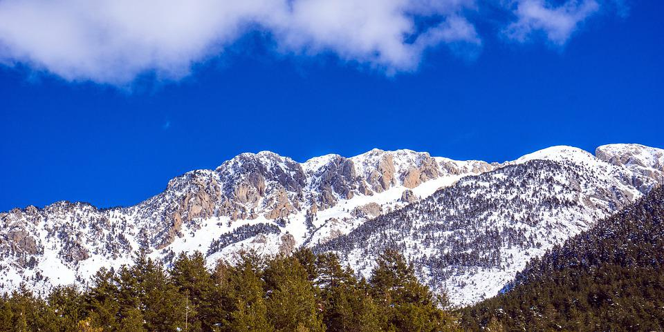 Snow, Nature, Mountain, Panoramic, Sky, Landscape, Cold