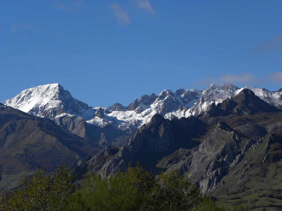 Mountains, Landscape, Peak Of Europe