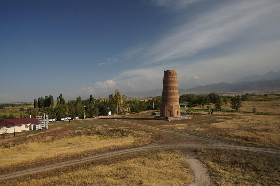 Kyrgyzstan, Burana, Landscape, Places Of Interest