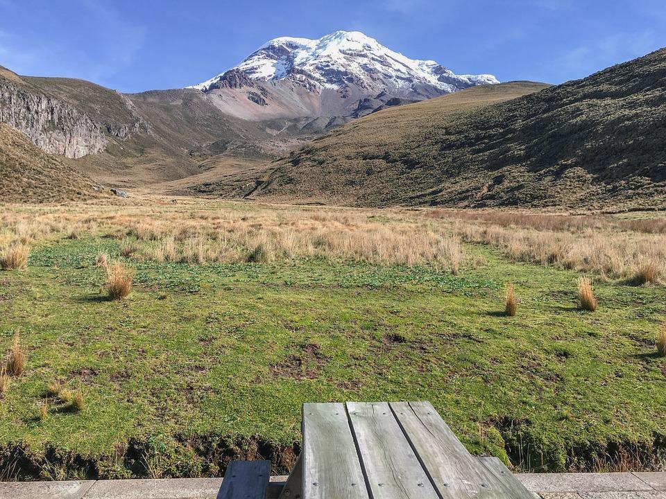 Ecuador, Landscape, Plateau, Chimborazo