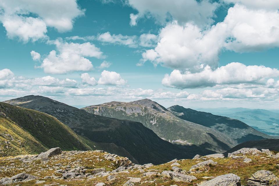 Mountain, Range, Landscape, Nature, Mountains, Sky