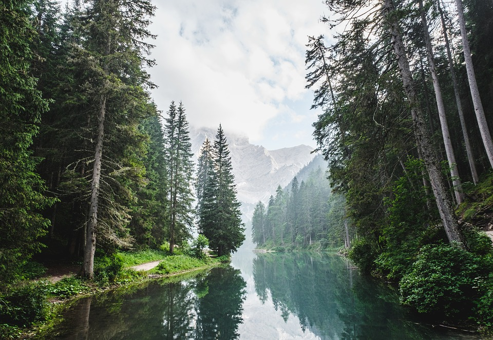 Landscape, Mountain, Nature, Outdoors, Reflection