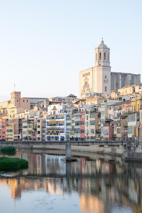 Landscape, River, Spain, Catalonia, Catalunya