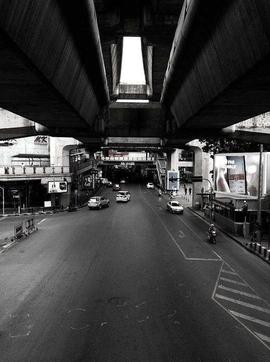 Thailand, Road, Landscape, Thai, Transportation, Street
