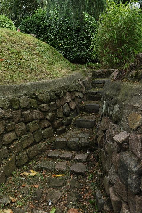 Rocks, Path, Landscape