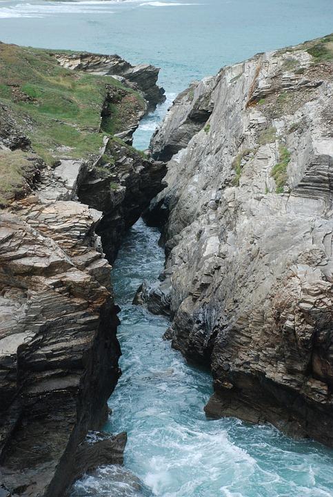 Cliff, Sea, Costa, Rocks, Bay Of Biscay, Landscape