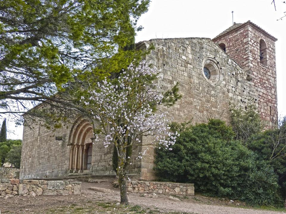 Romanesque Church, Siurana, Landscape