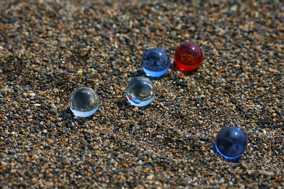Natural, Landscape, Beach, Sand, Glass, Marble