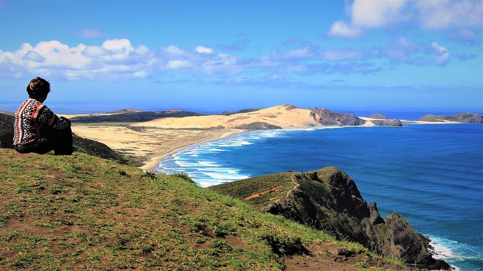 Cape Reinga, Scenery, New Zealand, Landscape