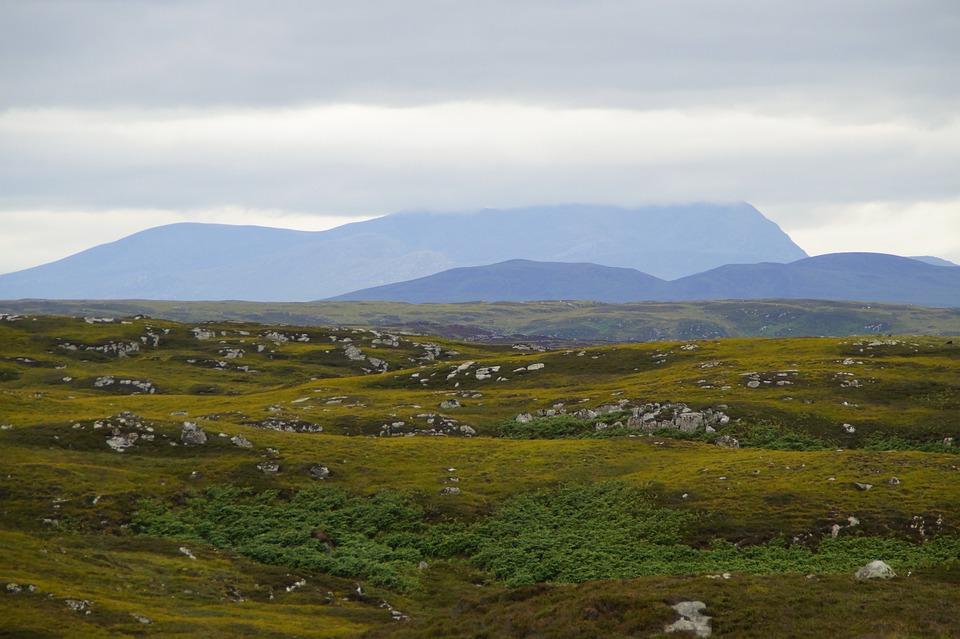 Scotland, Highlands And Islands, Plateau, Landscape