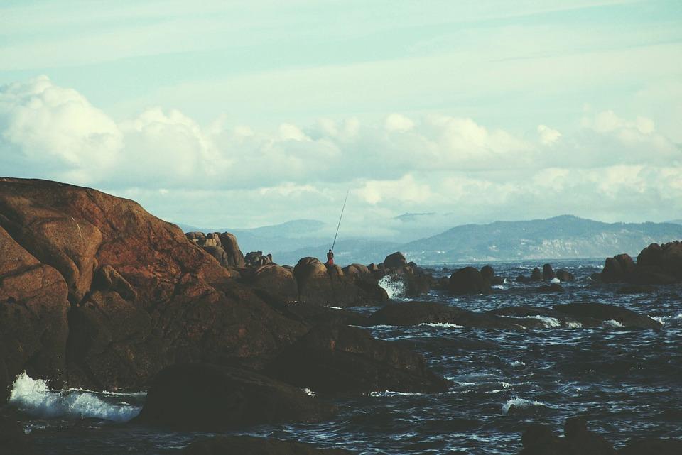 Landscape, Horizontal, Sea, Ocean, Natural, Nature