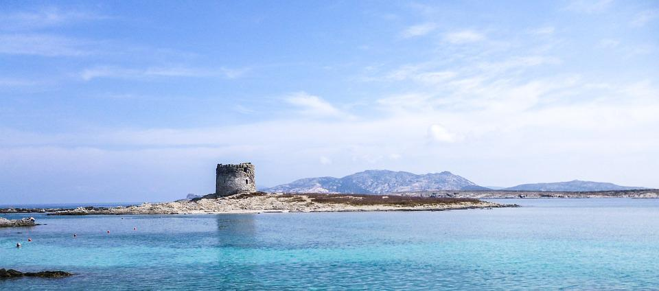 Stintino, Sardinia, Sea, Blue, Landscape, Holidays