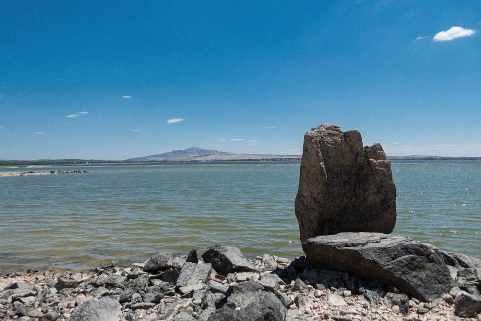 Marsh, Sea, Rock, Landscape, Costa, Nature, Screensaver