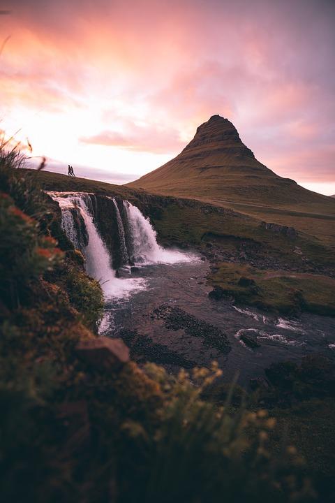 Cascada, Water, Landscape, Nature, Sky, River, Mountain