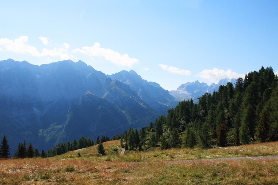 Mountain, Dolomites, Landscape, Sky, Trentino