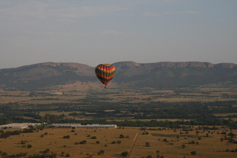 Mountains, Ballooning, Nature, Sky, Balloon, Landscape