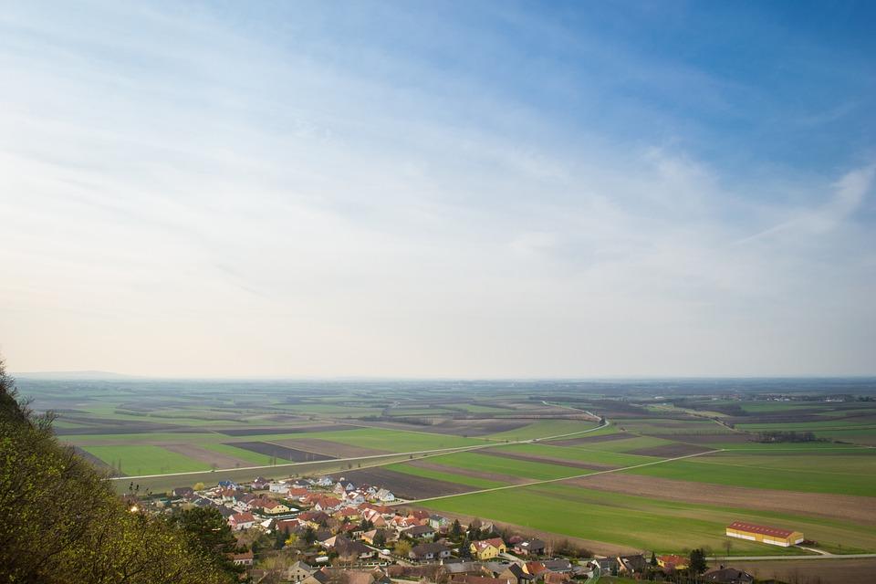 Panorama, Field, Sky, Clouds, Nature, Landscape, Heaven