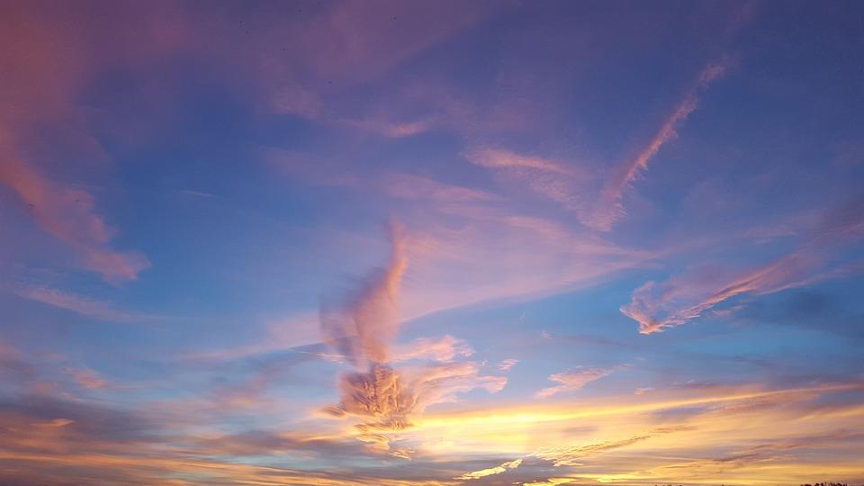 Sky, Nature, Sunset, Landscape, Weather