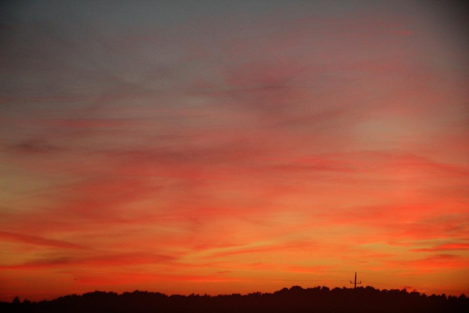 Sky, View, Landscape, Nature, West, Cloud, Large View