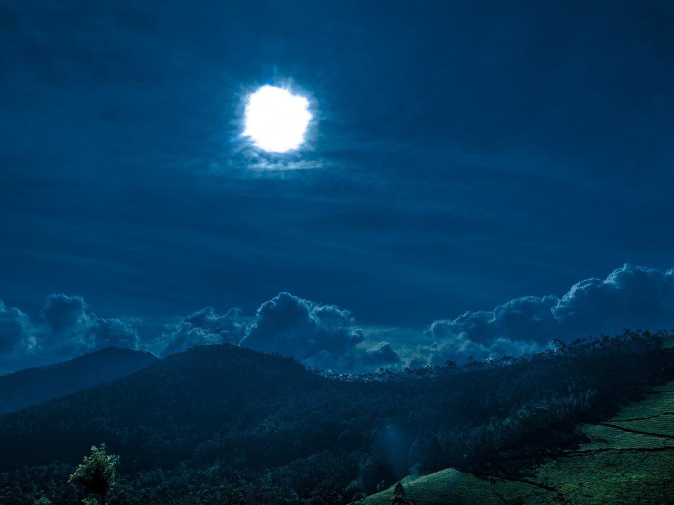 Travel, Night, Sky, Landscape, Travel Photos