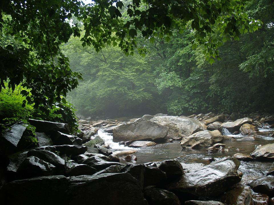 Gatlinburg, Tennessee, Landscape, Smoky
