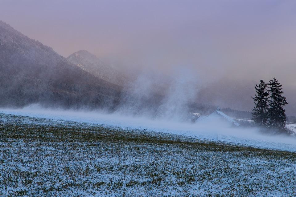 Snow, Snowdrift, Snow Flurry, Nature, Landscape, Cold