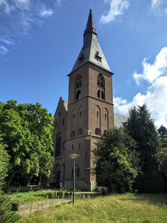 Church, Sky, Landscape, Steeple