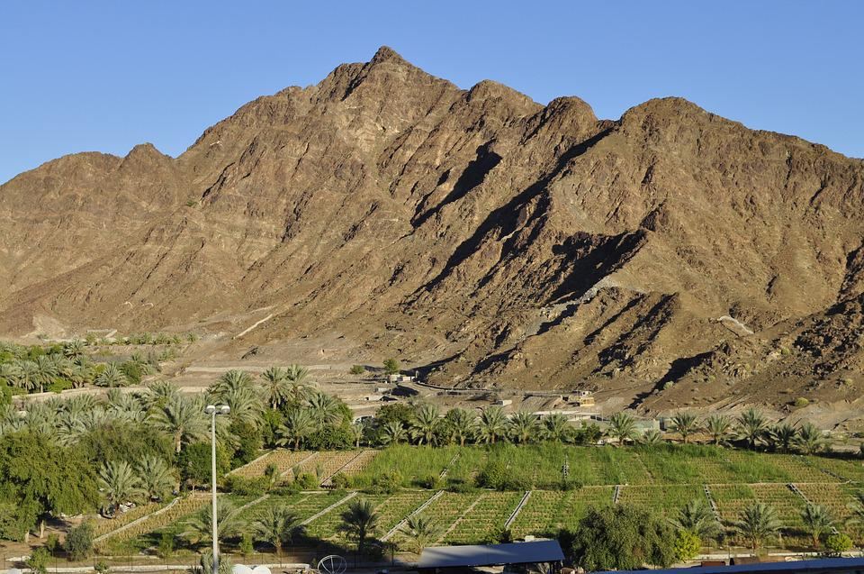 Mountain, Rock, Landscape, Stone, Peak, Fujairah