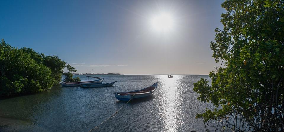 Beach, Boat, Landscape, Sea, The Sun, Summer, Nature