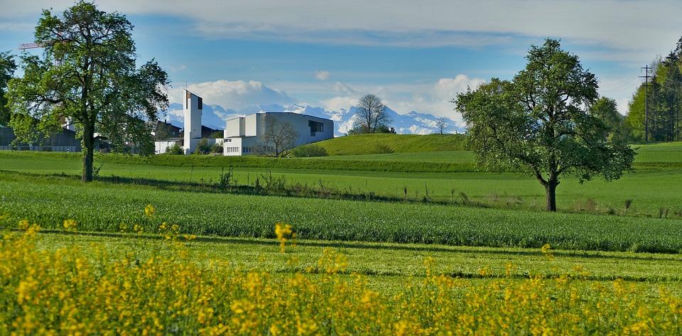 Landscape, Switzerland, Aargau, Nature