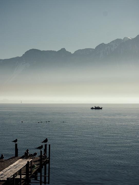 Switzerland, Lake, Landscape, Outlook