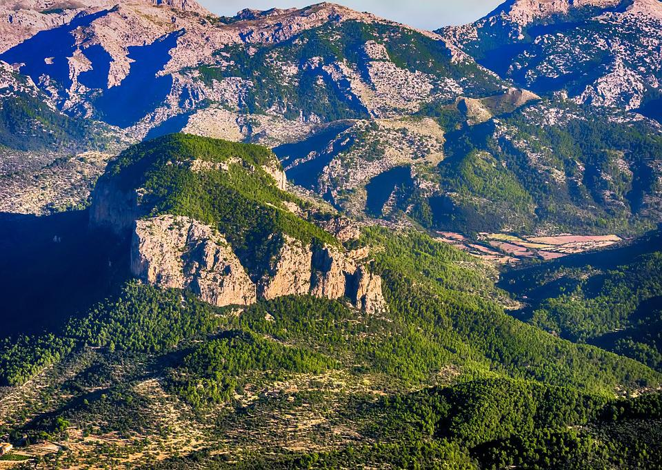 Mountain, Mallorca, Alaró, Tramontana, Inca, Landscape