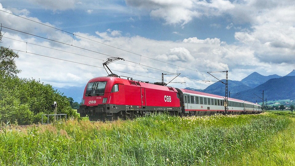 Nature, Transport System, Grass, Sky, Landscape