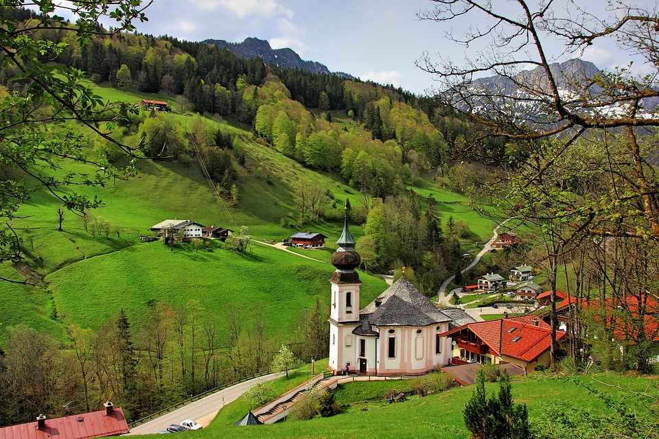 Tree, Nature, Grass, Landscape, Travel, Hill, Sky