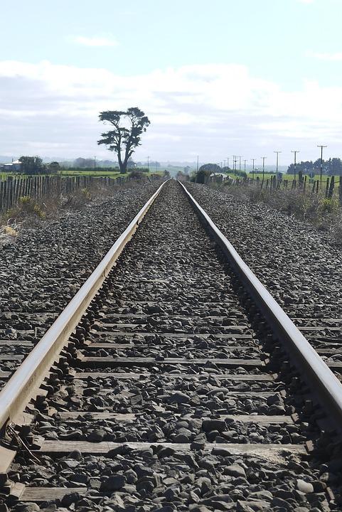 Railway Line, Landscape, Travel, Railway, Rail