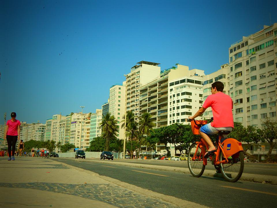 Brazil, Sky, Cyclist, Bicycle, Landscape, Travel