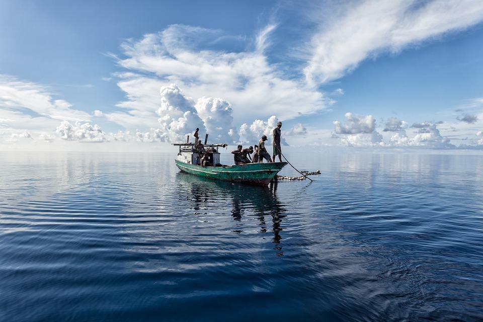 Landscape, Tropical, Sea, Halmahera Sea, Fishing