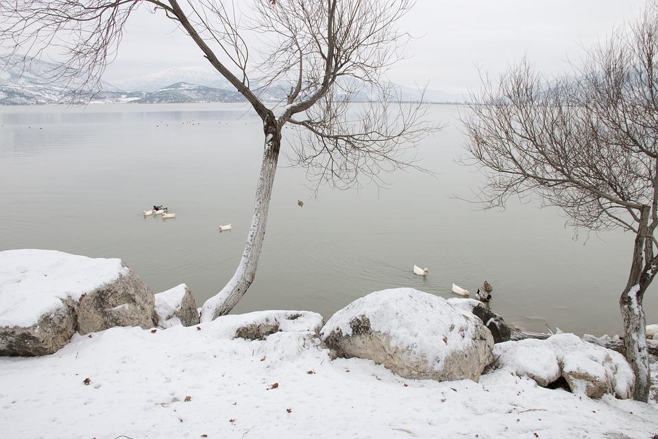 Snow, Landscape, Nature, Lake, Nature Turkey, Turkey