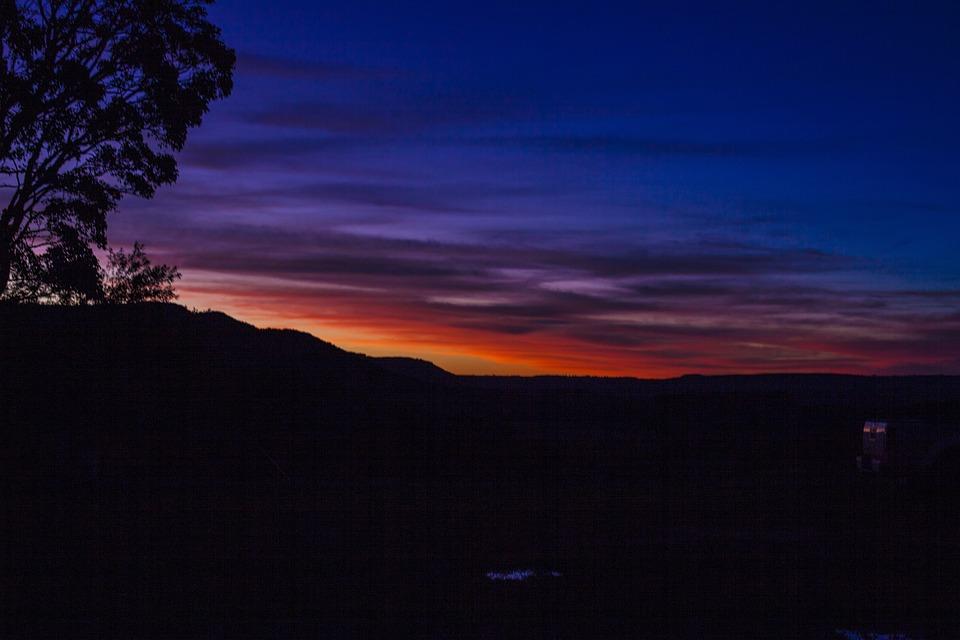 Free photo Landscape Twilight Sky Sunset Nature Atmosphere - Max Pixel