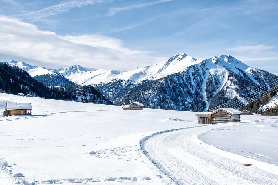 Landscape, Tyrol, Pfunds, Tschey, Mountain, Austria