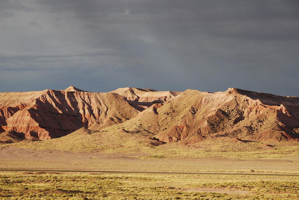 Usa, Arizona, Landscape, Desert, Nature, Red, America