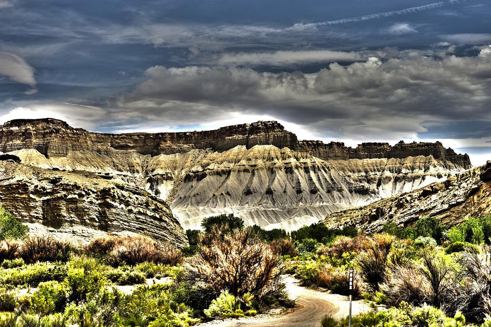 Usa, America, Landscape, Utah, Hdr