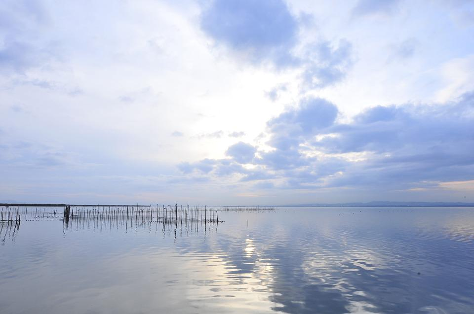 Valencia, Lake, Albufera, Water, Peaceful, Landscape