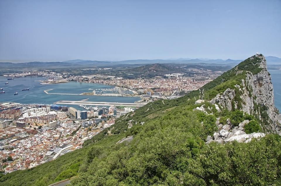 Gibraltar, Panorama, Rock, Landscape, View, Spain