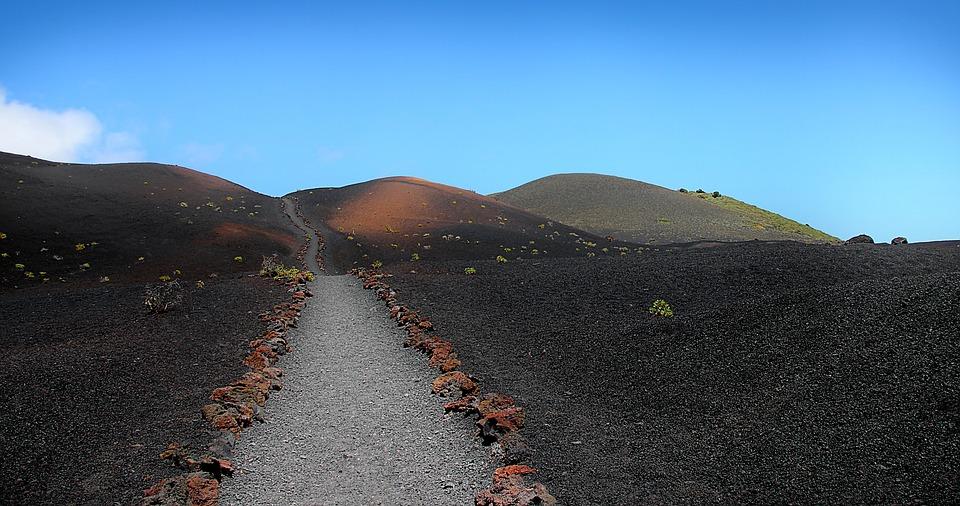 Away, Volcano, Canary Islands, La Palma, Landscape
